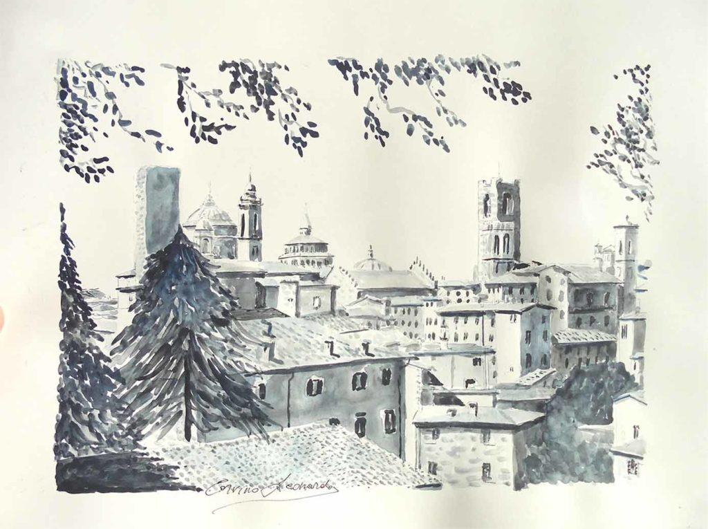 Acquerelli con colore grigio payne 3