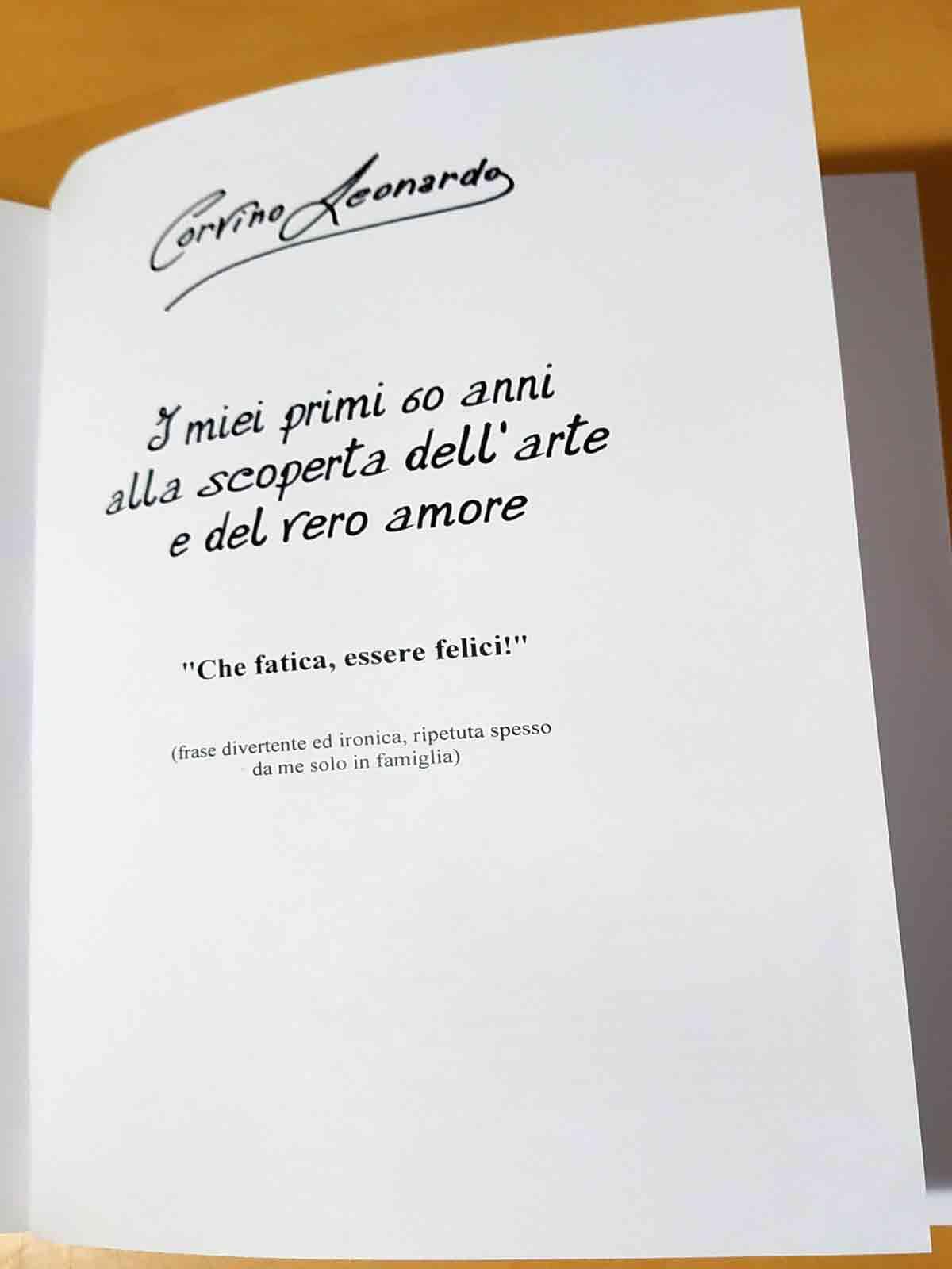 Libro di Corvino Leonardo